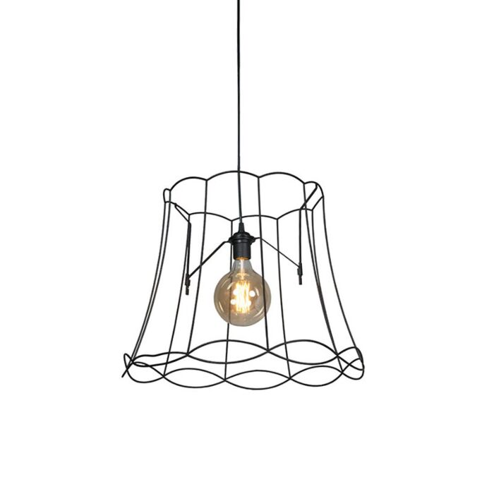 Retro-hanglamp-zwart-50-cm---Granny-Frame