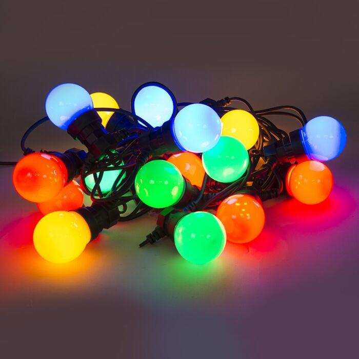 Gekleurde-feestverlichting-20-LED's-9,5-meter
