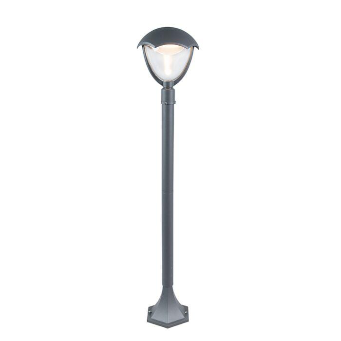 Moderne-buitenlamp-paal-aluminium-LED-100cm---Cappe