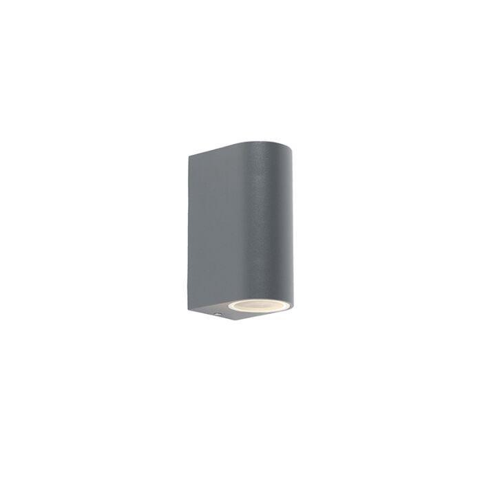 Moderne-wandlamp-donkergrijs-IP44---Ben-2