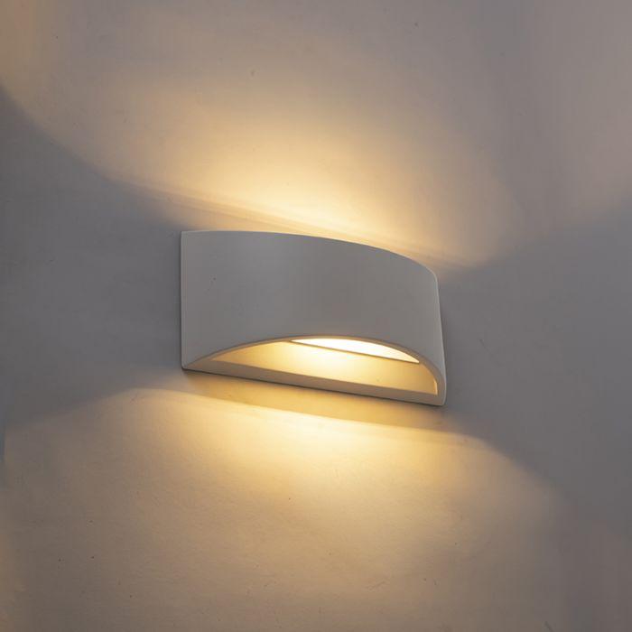 Industriële-wandlamp-grijs-beton---Creil