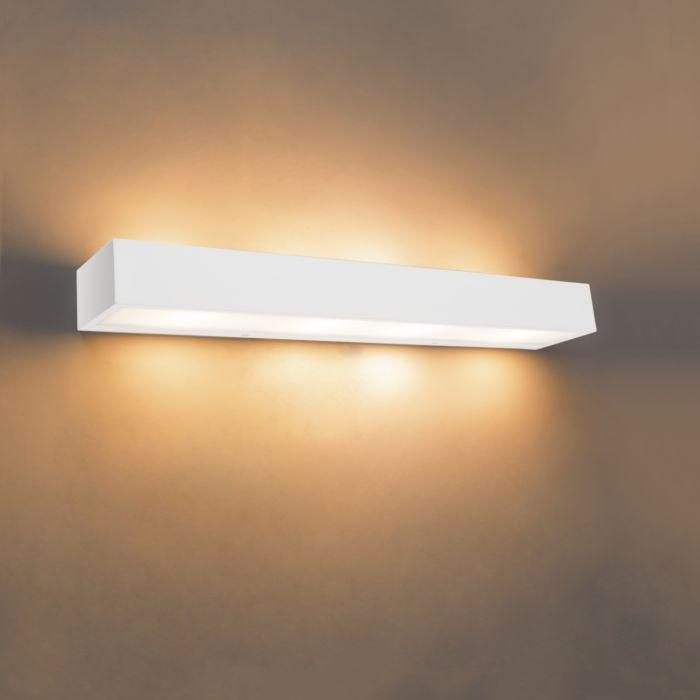 Design-langwerpige-wandlamp-wit-60-cm---Houx