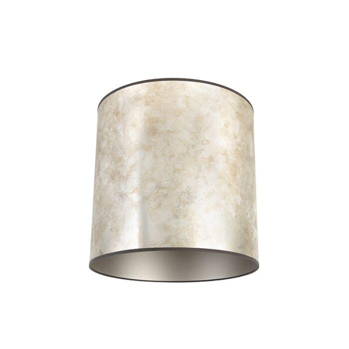 Lampenkap-zilver-40/40/40