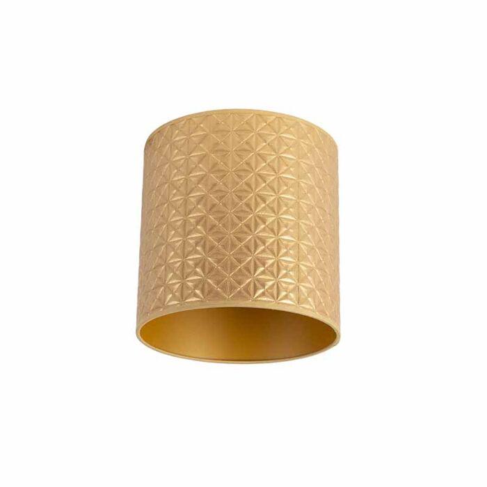 Lampenkap-goud-25/25/25-triangle-dessin