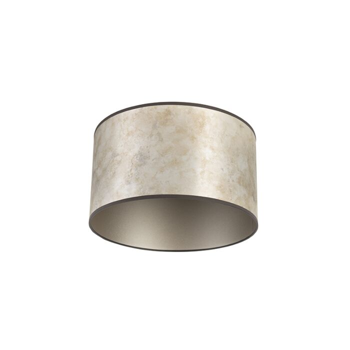 Lampenkap-zilver-35/35/20