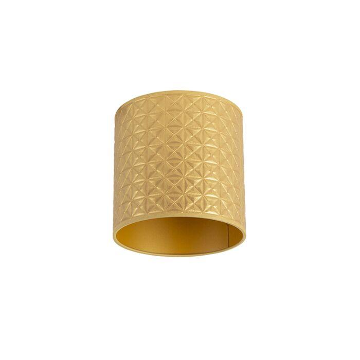 Lampenkap-goud-20/20/20-triangle-dessin