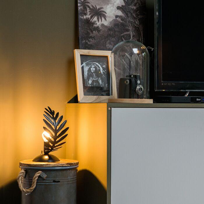 Vintage-tafellamp-small-zwart---Botanica