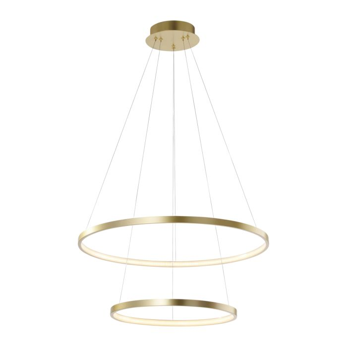 Moderne-ring-hanglamp-goud-incl.-LED---Anella-Duo