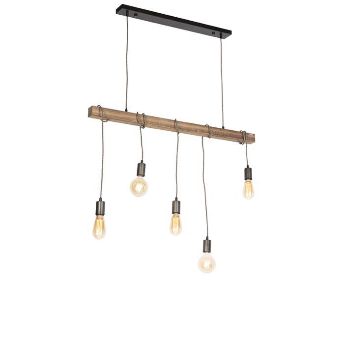 Industriele-hanglamp-zwart---Gallow