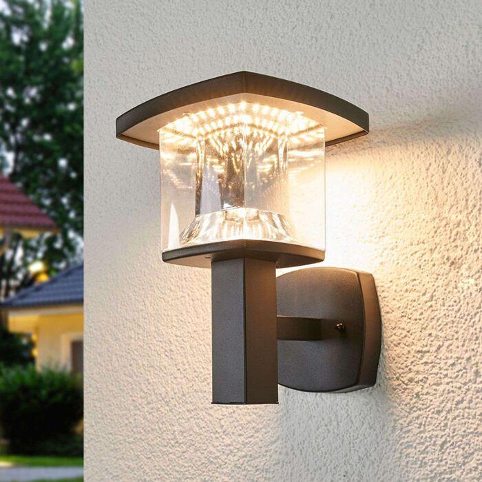 Strakke-vierkante-buitenlamp-RVS-zwart-incl.-LED---Askan