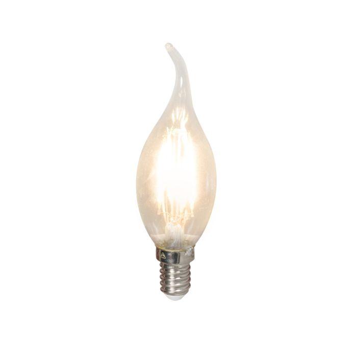 LED-filament-tipkaarslamp-E14-240V-3,5W-350lm-BXS35-dimbaar