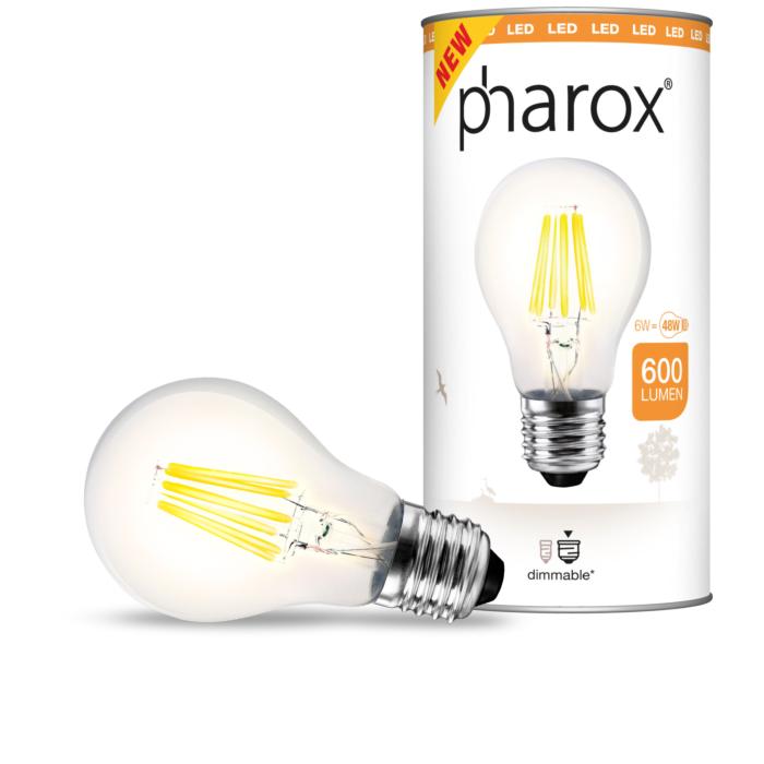 Pharox-LED-lamp-helder-E27-6W-600-lumen
