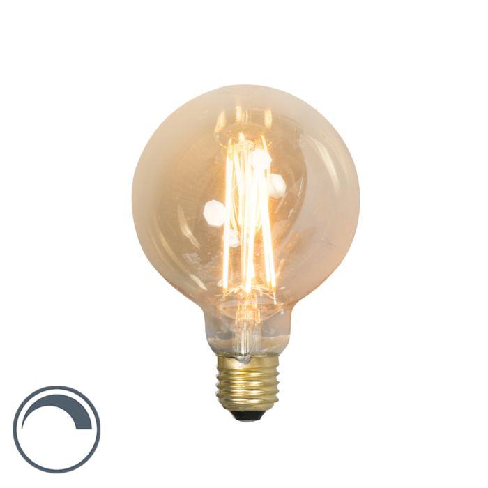 LED-langfilament-globelamp-E27-240V-4W-320lm-dimbaar