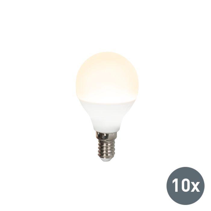 Set-van-10-LED-lamp-G45-E14-3W-3000K