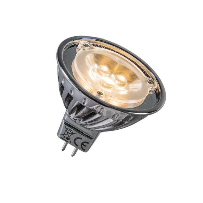 Power-LED-12V-MR16-3-x-1W-=-ca.-30W-warm-wit
