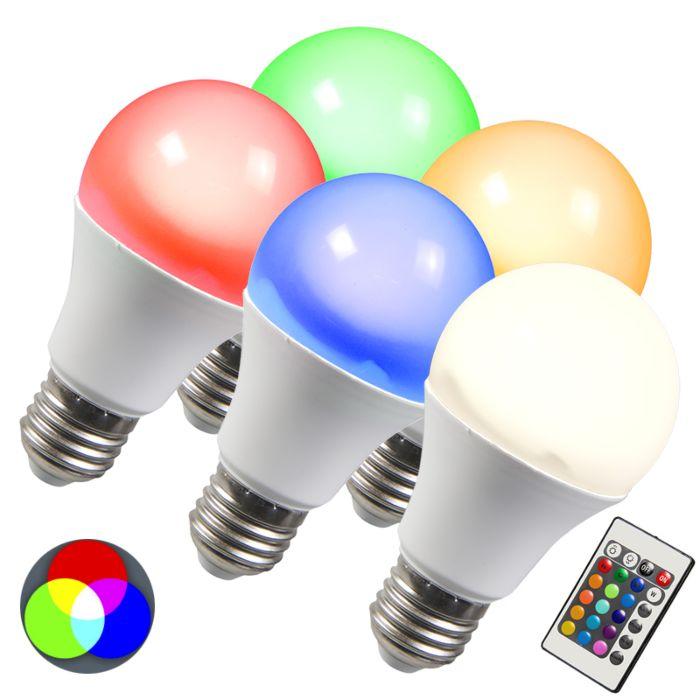 LED-lamp-RGB-E27-3W-set-van-5