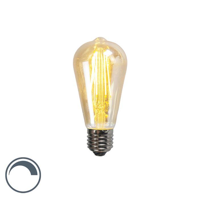 E27-dimbare-LED-filament-smoke-lamp-ST64-5W-450-lumen-2200K