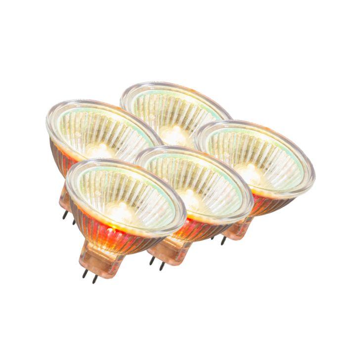 Set-van-5-halogeen-MR16-12V