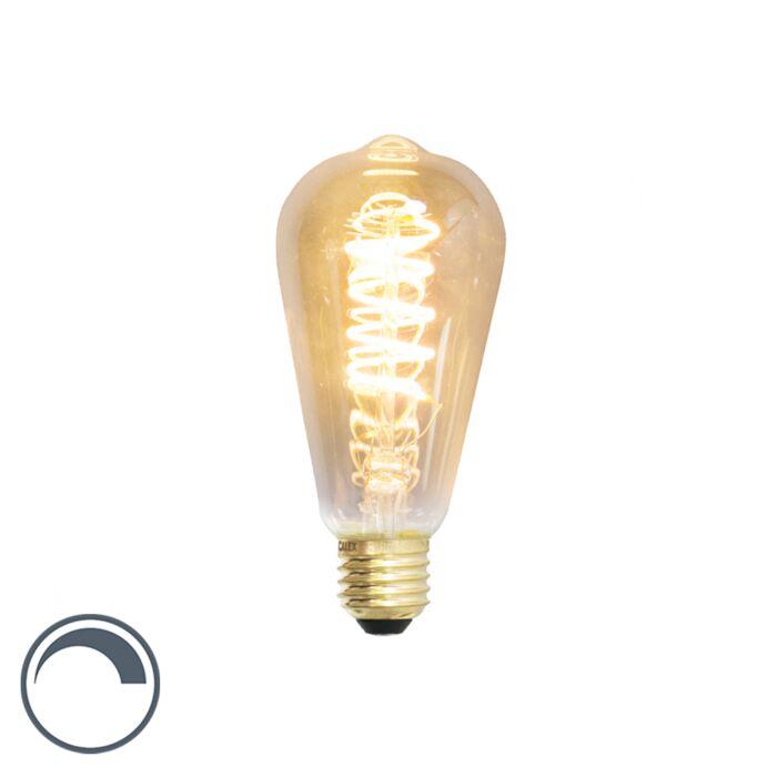 E27-dimbare-LED-filament-lamp-ST64-4W-200-lumen-2100K