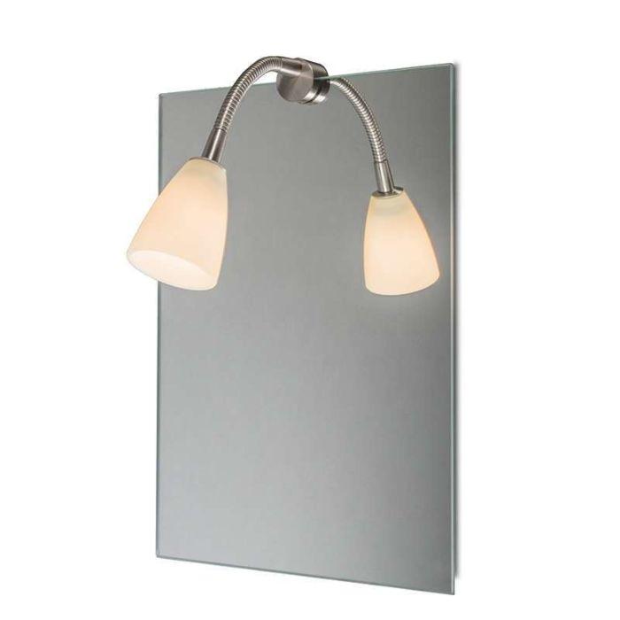 Spiegelverlichting-Curvus-staal