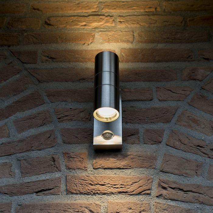 Buitenlamp-Duo-IR-staal