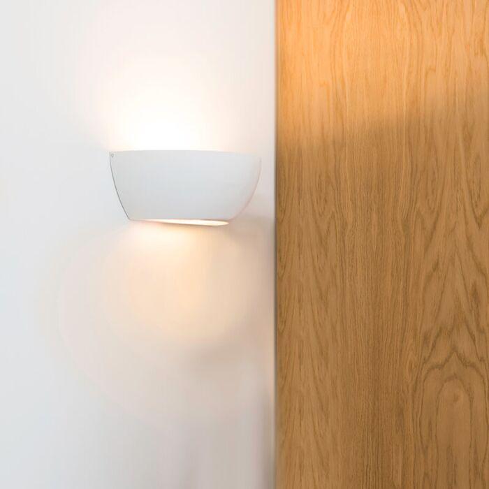 Wandlamp-wit---Gipsy-Chatou