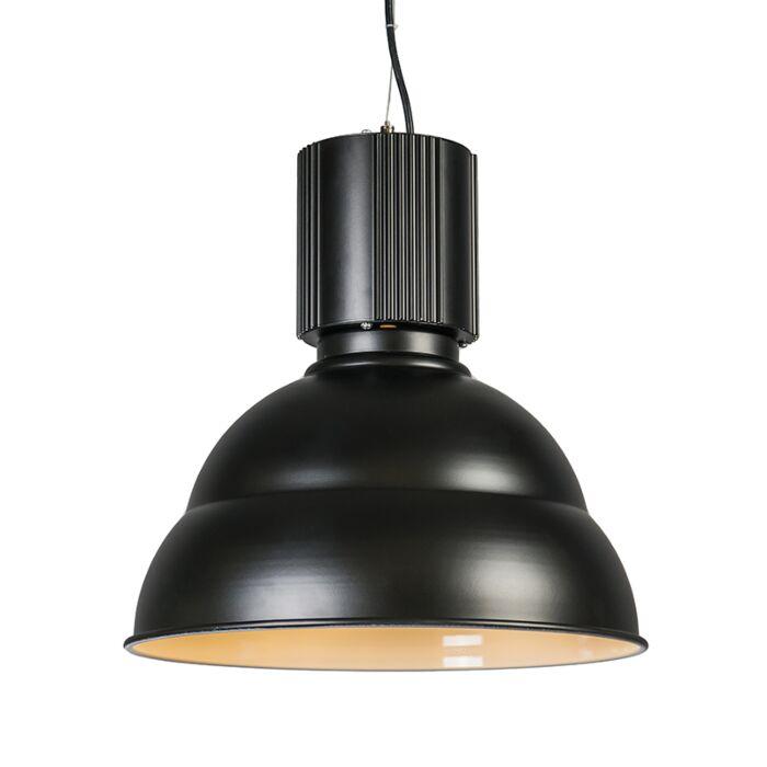 Hanglamp-Industrie-zwart
