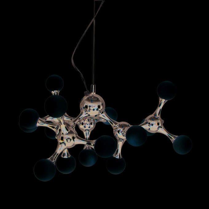 Hanglamp-Globo-mini-15-chroom