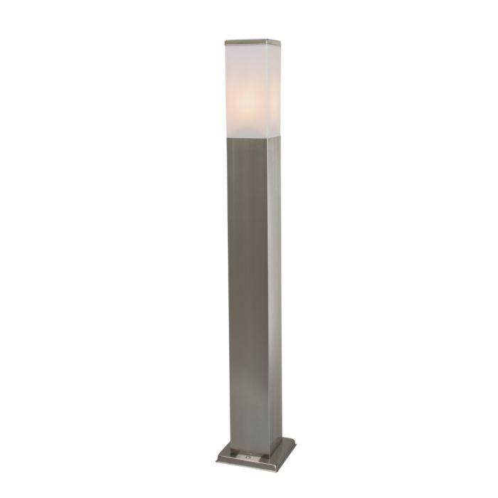 Moderne-buitenlamp-80-cm-staal---Malios