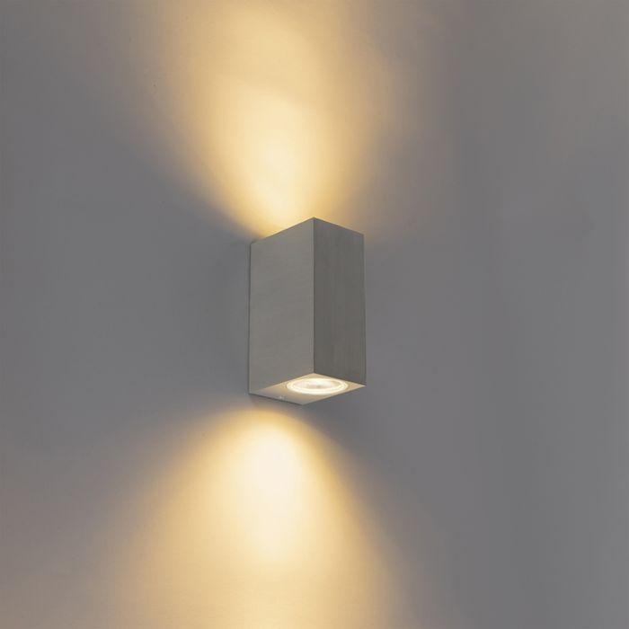 Moderne-wandlamp-staal-IP44---Baleno-II