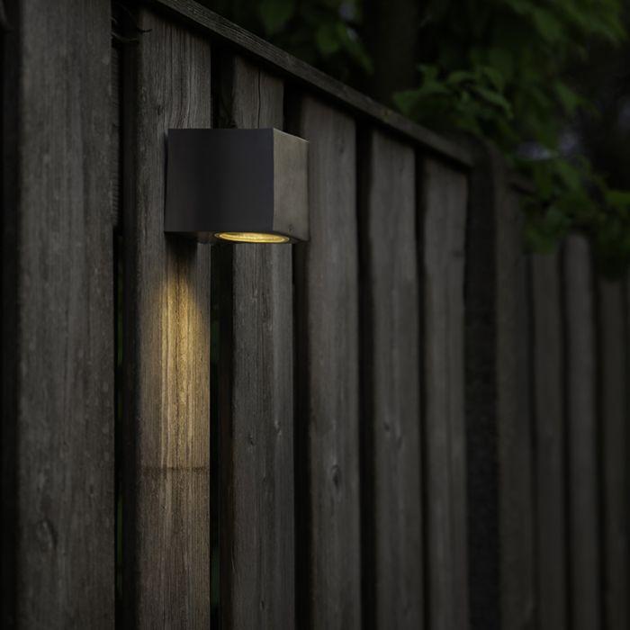 Moderne-wandlamp-staal-IP44---Baleno-I