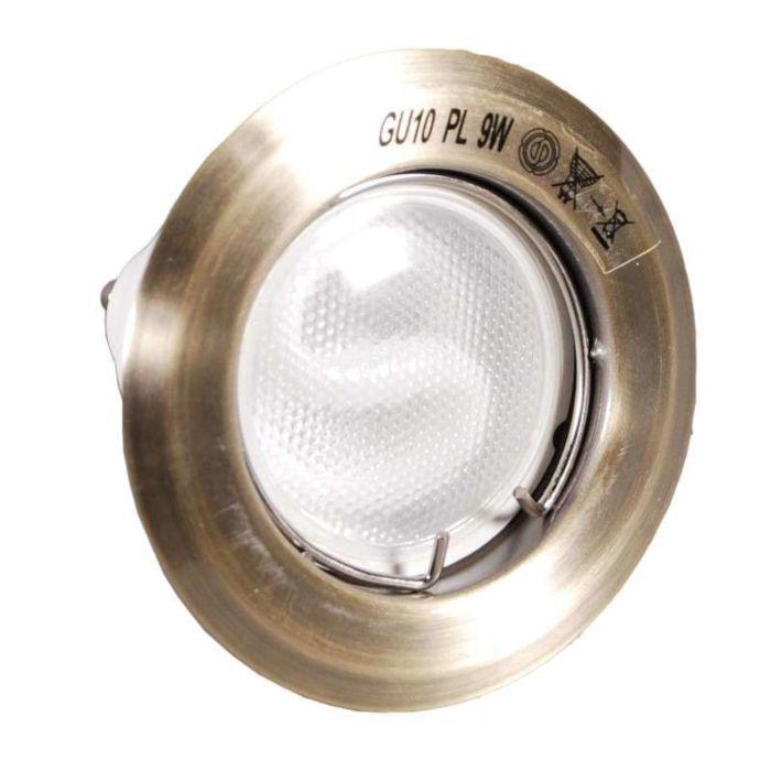 Inbouwspot-Burn-brons-met-spaarlamp
