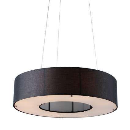 Hanglamp-Drum-Open-60cm-zwart