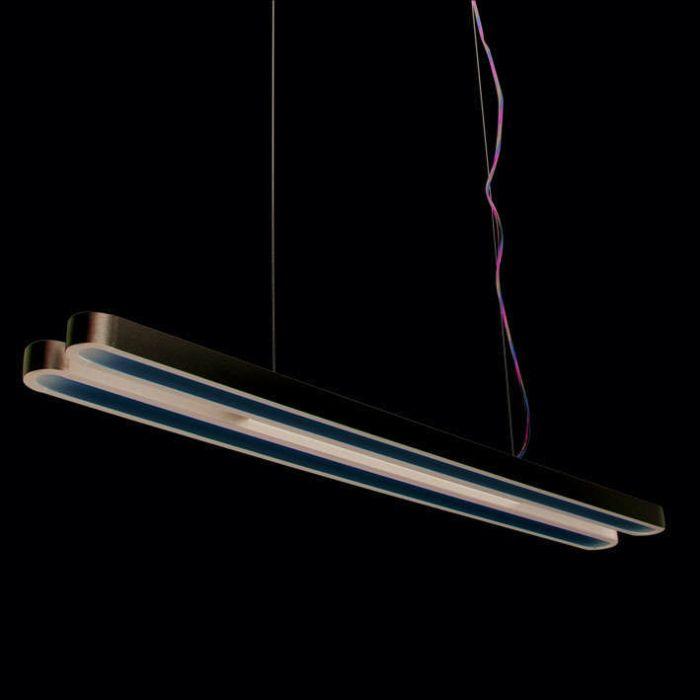 Hanglamp-Tube-U-Double-28W-zilver