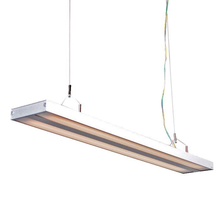 Hanglamp-Tube-S-zilver-2-x-21W