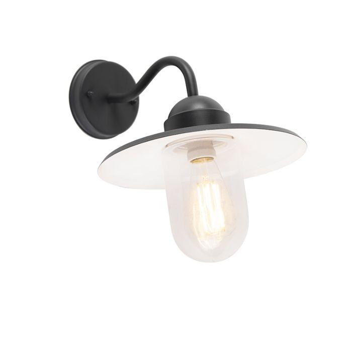 Buitenwandlamp-antraciet-IP44---Kansas-grafiet