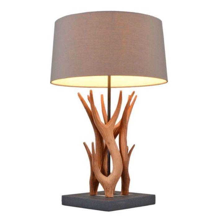 Tafellamp-Yindee-naturel-met-bruine-kap