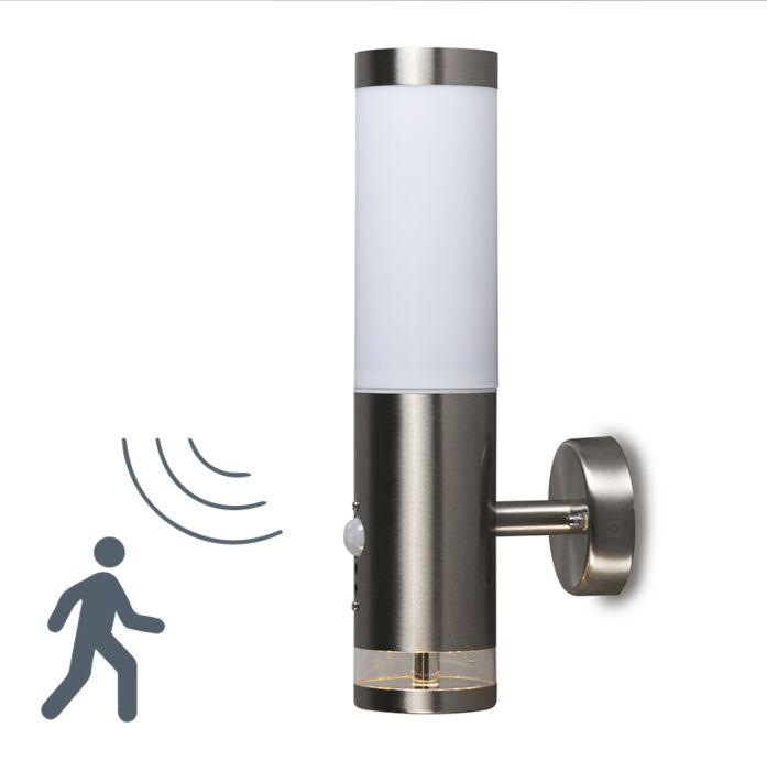 Buitenlamp-Rox-wand-Lux-LED-IR-sensor