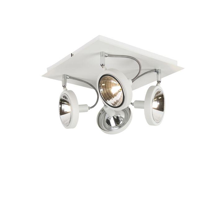 Design-spot-wit-4-lichts-verstelbaar---Nox