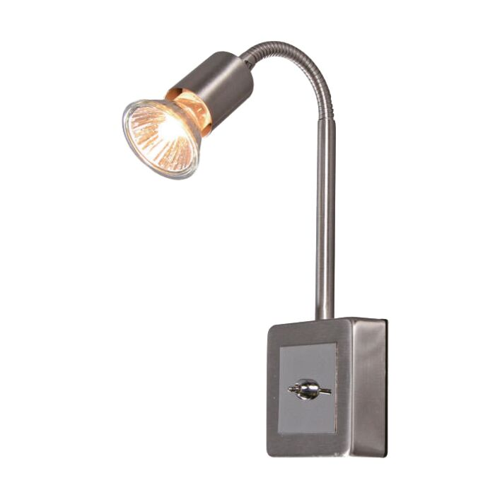 Stekkerspot-Plug-flex-staal