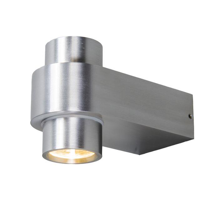 Wandlamp-Win-2-LED-aluminium