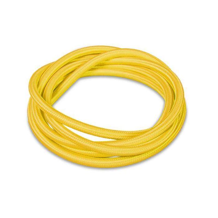 Stoffen-kabel-1-meter-geel