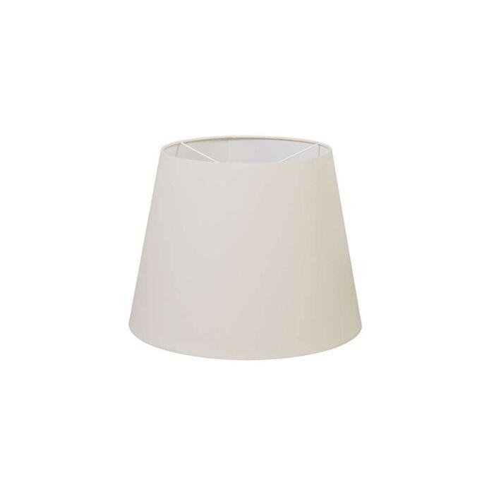 Polyester-lampenkap-creme-wit-35/27,5