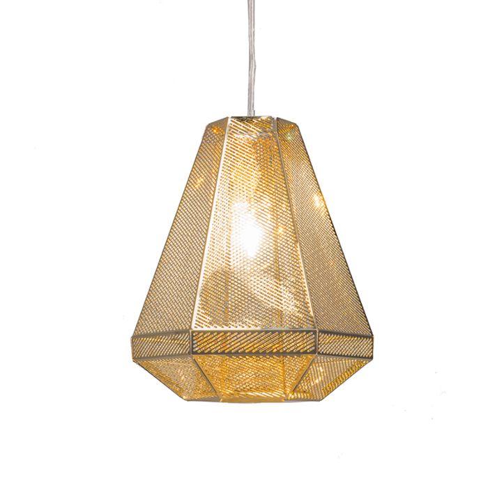 Hanglamp-Vince-goud