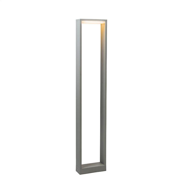 Buitenlamp-Frame-80-LED-zilvergrijs