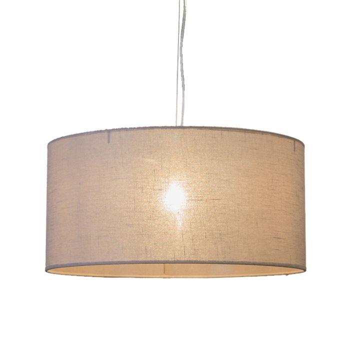 Hanglamp-Cappo-1-met-kap-lichtbruin