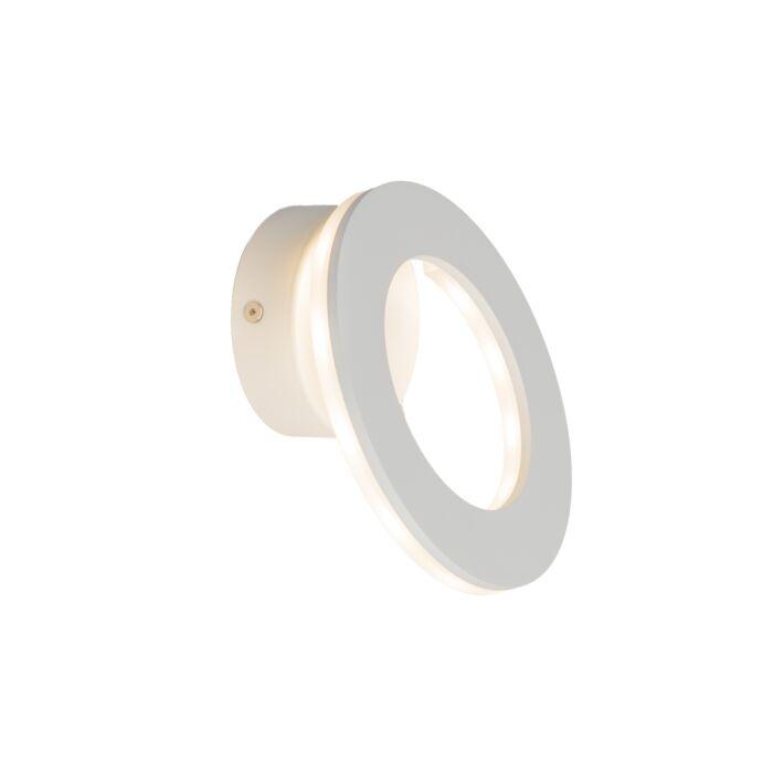 Wandlamp-Halo-LED-wit