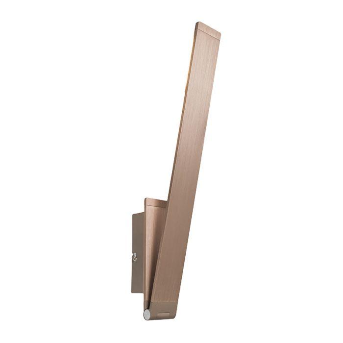 Wandlamp-Libro-rosé-goud