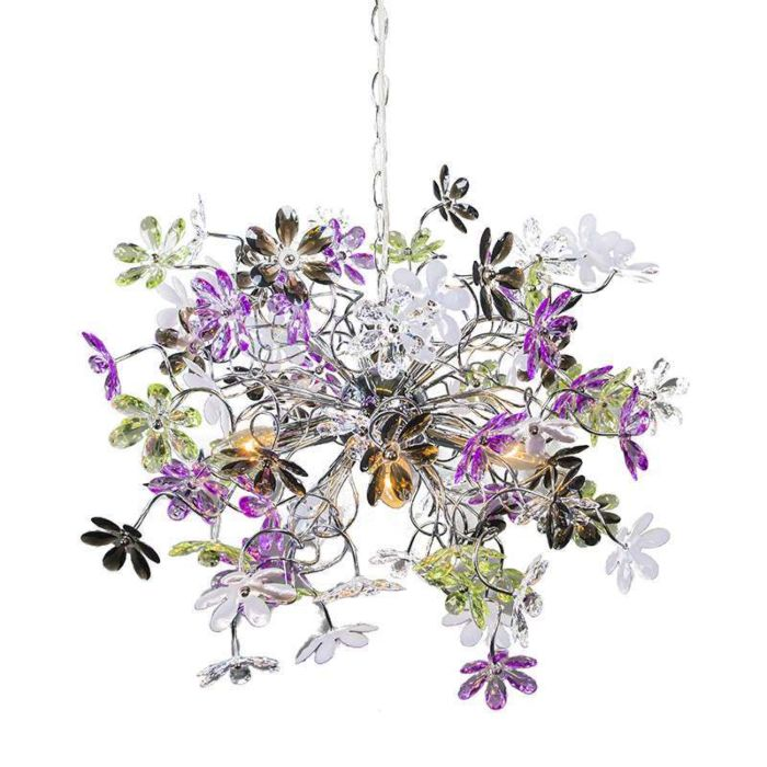 Hanglamp-Fiore-4-chroom