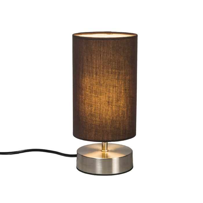 Tafellamp-Milo-2-rond-bruin